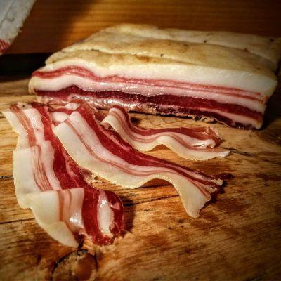 Fowlescombe Mangalitsa Pancetta, Organic 70g (sliced)