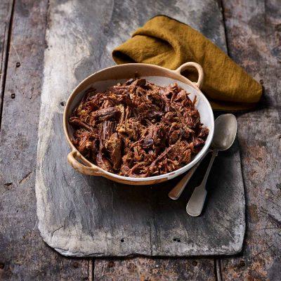Organic Hot-Smoked Shredded Beef - 500g