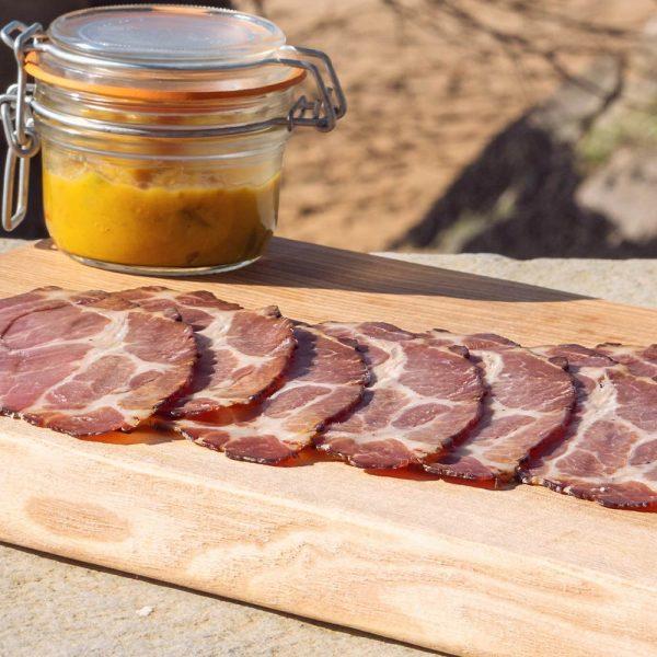 R & P Island Street Porter Ham, sliced
