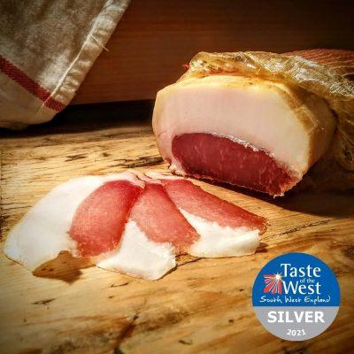 Fowlescombe Mangalitsa Lonza, Organic, 70g (sliced)